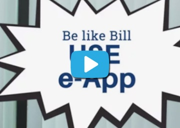 Be Like Bill: Use e-App